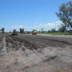 Coal Pad Construction, New Hope Coal